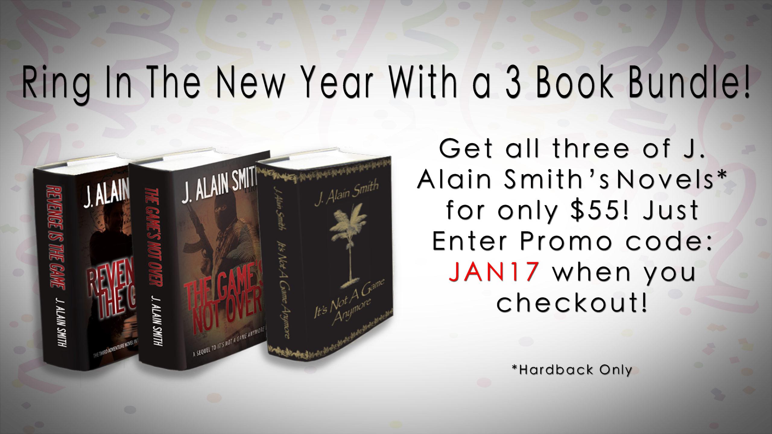 3 Novel Bundle, Available Now!