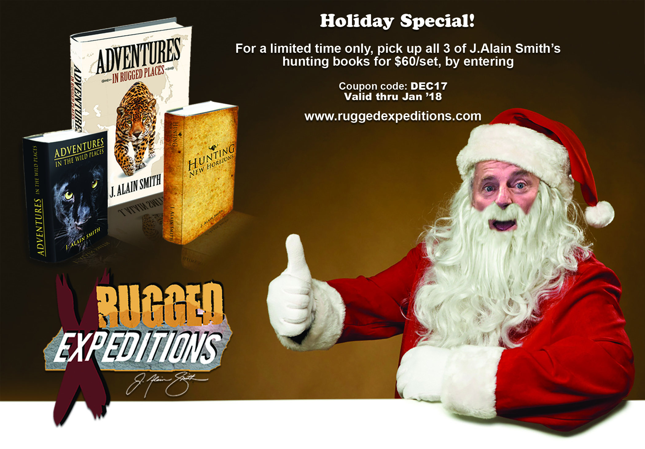 Christmas Special Sale on Hunting Books!