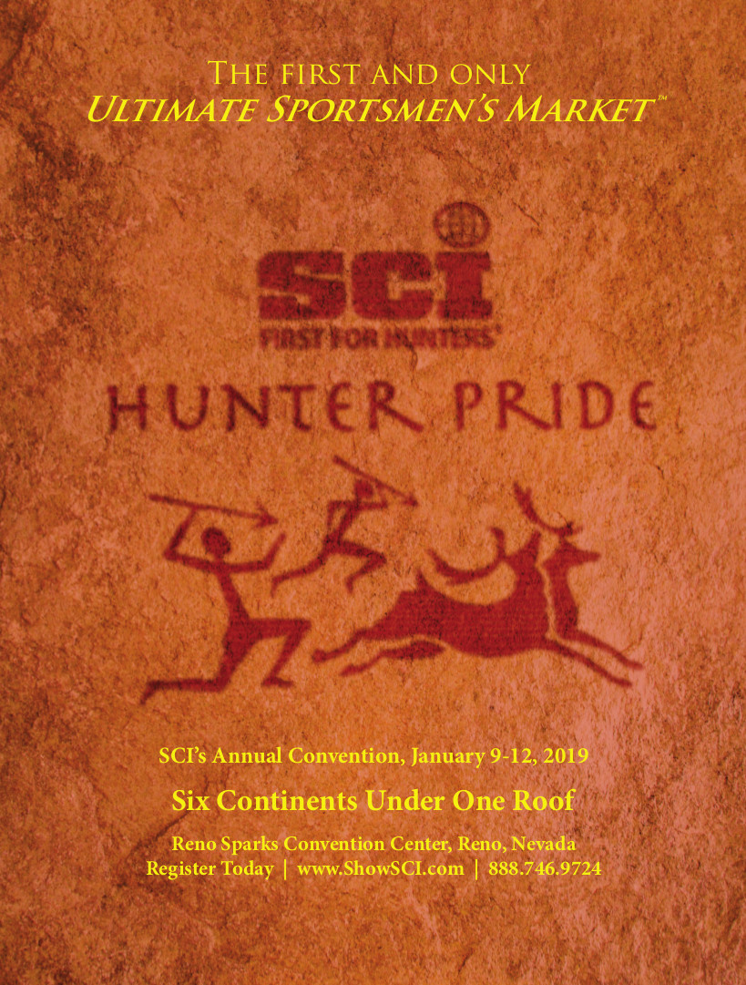 Reno for Safari Club International's 47th Annual Hunters' Convention